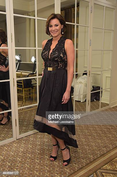 LuAnn de Lesseps attends the Sherri Hill fashion show during MercedesBenz Fashion Week Fall 2015 at The Plaza on February 19 2015 in New York City