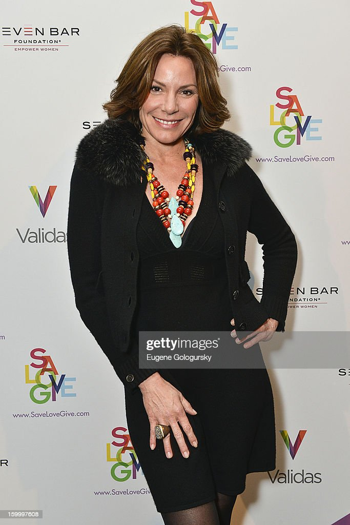 LuAnn de Lesseps attends the Vera Launch at Ambassadors River View at the United Nations on January 24, 2013 in New York City.