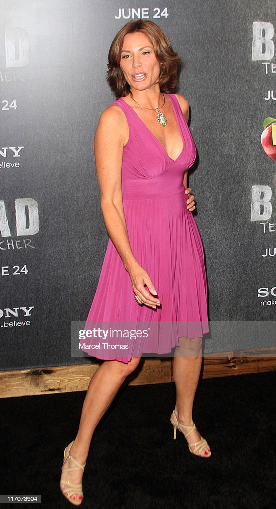 LuAnn de Lesseps attends the world premiere of 'Bad Teacher' at the Ziegfeld Theatre on June 20, 2011 in New York City.