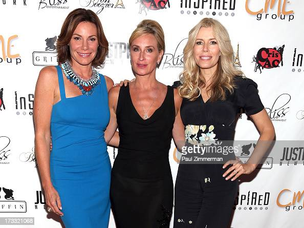 LuAnn de Lesseps Sonja Morgan and Aviva Drescher attend 'Inspired In New York' event on July 11 2013 in New York United States