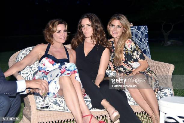 Luann de Lesseps Victoria de Lesseps and Lindsey Diener attend Alzheimer's Association Hosts Rita Hayworth Gala Hamptons Kickoff Event at Private...