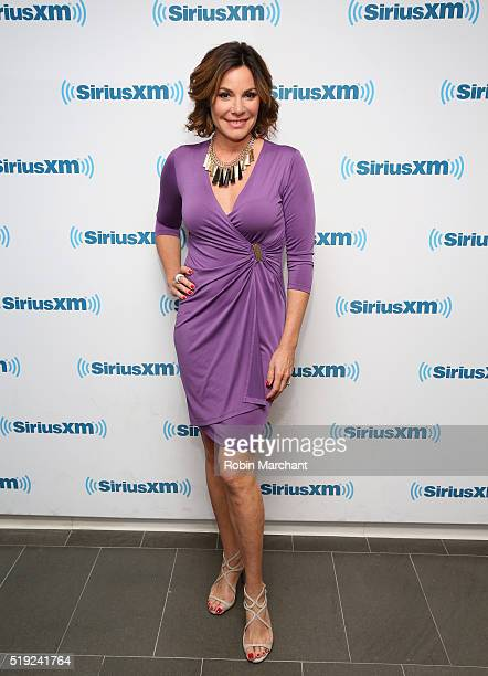 Luann de Lesseps visits at SiriusXM Studio on April 5 2016 in New York City