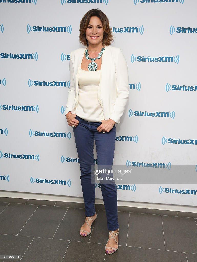 Luann de Lesseps visits at SiriusXM Studio on June 21, 2016 in New York City.