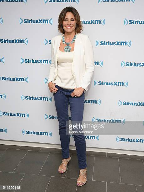 Luann de Lesseps visits at SiriusXM Studio on June 21 2016 in New York City