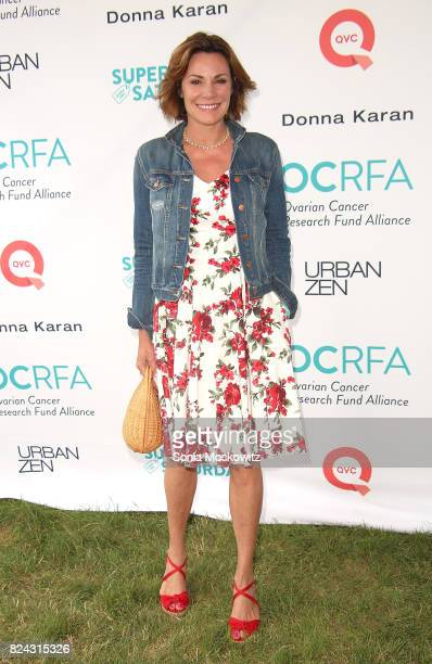 Luann DeLesseps D'Agostino attends the 20th Annual Super Saturday to benefit the Ovarian Cancer Research Fund Alliance at Nova's Ark Project on July...