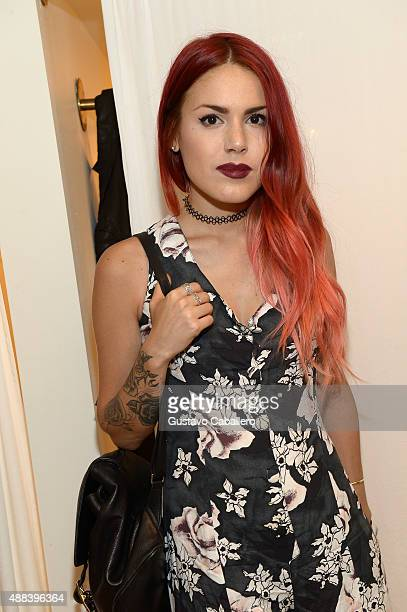 Luanna Perez attends at PANDORA Jewelry X Nanette Lepore at New York Fashion Week on September 15 2015 in New York City