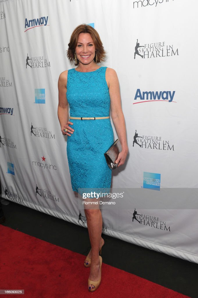 LuAnne de Lesseps attends The 2013 Skating With The Stars Benefit Gala at Trump Rink at Central Park on April 8, 2013 in New York City.