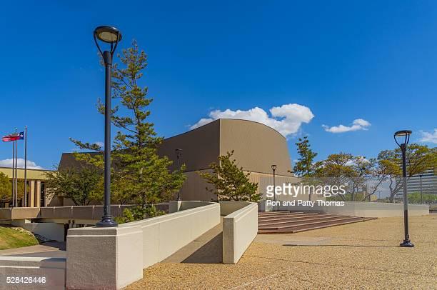 Lubbock Memorial Civic center of downtown Lubbock Texas;(P)