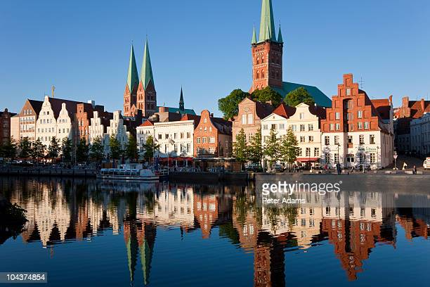 Lubeck Old Town & River Trave, Germany