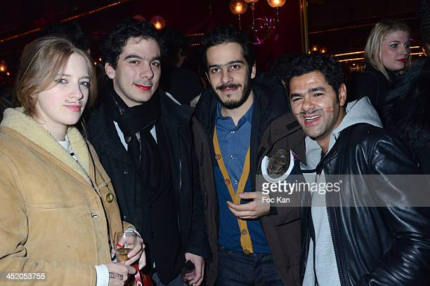 Lubna Playoust Nathanael Karmitz Elisha Karmitz and Jamel Debbouze attend Le Fooding 2013 Culinary Awards at the Cirque d'Hiver on November 25 2013...