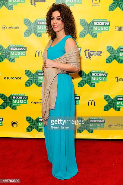 Lubna Salamehi of Diwan Saz attends 'International Daystage' during the 2015 SXSW Music Film Interactive Festival at Austin Convention Center on...