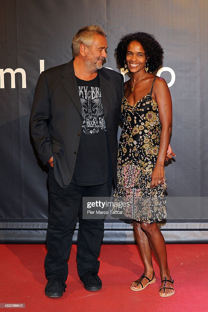 <a gi-track='captionPersonalityLinkClicked' href=/galleries/search?phrase=Luc+Besson&family=editorial&specificpeople=226803 ng-click='$event.stopPropagation()'>Luc Besson</a> and his wife <a gi-track='captionPersonalityLinkClicked' href=/galleries/search?phrase=Virginie+Silla&family=editorial&specificpeople=4291594 ng-click='$event.stopPropagation()'>Virginie Silla</a> attend 'Lucy' Premiere on August 6, 2014 in Locarno, Switzerland.