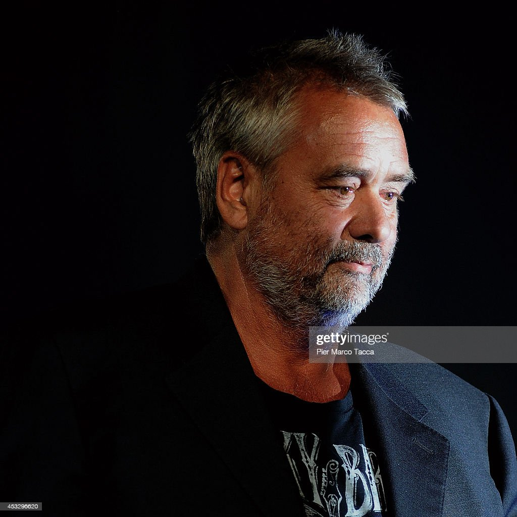 <a gi-track='captionPersonalityLinkClicked' href=/galleries/search?phrase=Luc+Besson&family=editorial&specificpeople=226803 ng-click='$event.stopPropagation()'>Luc Besson</a> attends 'Lucy' Premiere on August 6, 2014 in Locarno, Switzerland.
