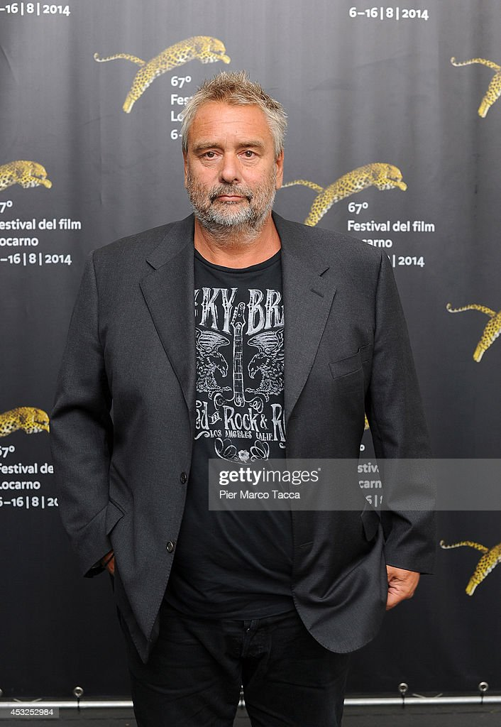 <a gi-track='captionPersonalityLinkClicked' href=/galleries/search?phrase=Luc+Besson&family=editorial&specificpeople=226803 ng-click='$event.stopPropagation()'>Luc Besson</a> attends the 'Lucy' photocall during the 67th Locarno Film Festival on August 6, 2014 in Locarno, Switzerland.