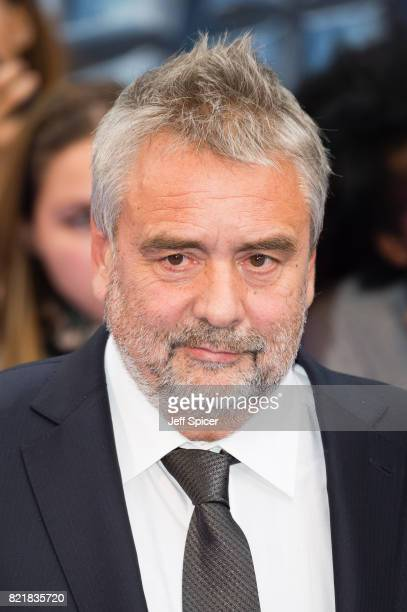 Luc Besson attends the 'Valerian And The City Of A Thousand Planets' European Premiere at Cineworld Leicester Square on July 24 2017 in London England