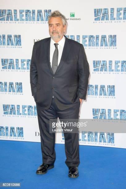 Luc Besson attends 'Valerian et la Cite desMille Planetes' Paris Premiere at La Cite Du Cinema on July 25 2017 in SaintDenis France