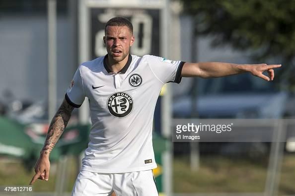 Luc Castaignos of Eintracht Frankfurt during the friendly match between Eintracht Frankfurt and Wacker Innsbruck on July 7 2015 at Keratin Austria