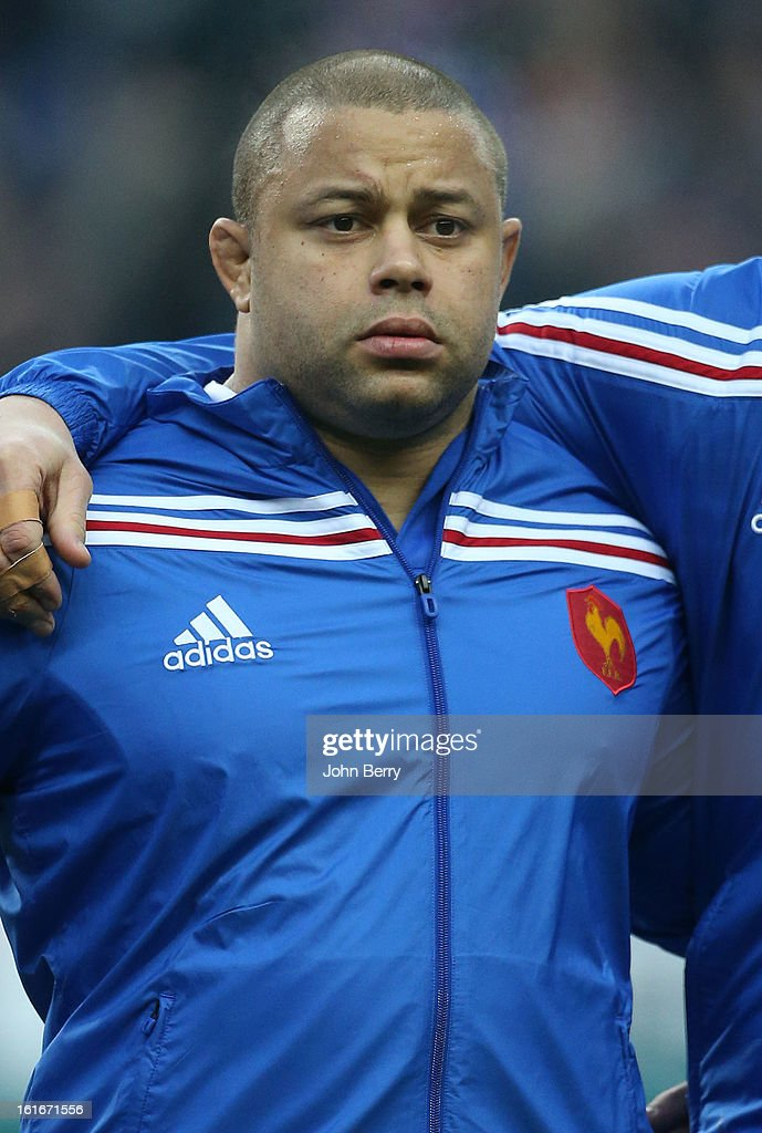 Luc Ducalcon of France poses before the 6 Nations match between France and Wales at the Stade de France on February 9, 2013 in Paris, France.