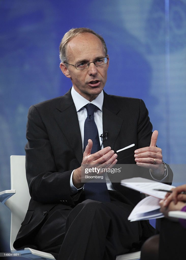 <a gi-track='captionPersonalityLinkClicked' href=/galleries/search?phrase=Luc+Frieden&family=editorial&specificpeople=651276 ng-click='$event.stopPropagation()'>Luc Frieden</a>, Luxembourg's finance minister, speaks during a Bloomberg Television interview in London, U.K., on Wednesday, May 23, 2012. Luxembourg and Austria vetoed negotiations over the extension of a European savings tax, fearing they would be forced to give up the banking secrecy that attracts foreign depositors. Photographer: Chris Ratcliffe/Bloomberg via Getty Images