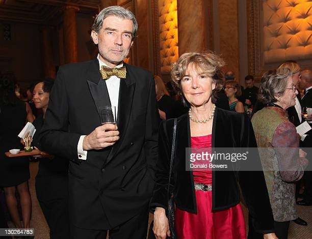 Luc Hardy and Madeleine DesChamps attend The FrenchAmerican Foundation Annual Gala 2011 at Capitale on October 25 2011 in New York City