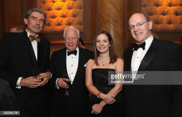Luc Hardy David McCullough Genevieve Wachtell and Antione Trieulle attend The FrenchAmerican Foundation Annual Gala 2011 at Capitale on October 25...