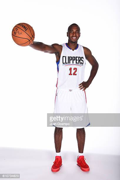 Luc Richard Mbah a Moute of the Los Angeles Clippers poses for a portrait during the 20162017 Los Angeles Clippers Media Day on September 26 2016 at...
