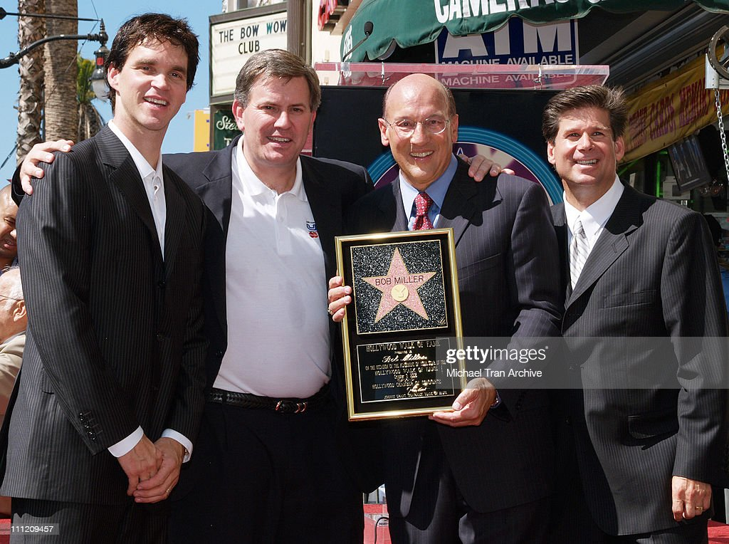 L.A. Kings Sports Announcer Bob Miller Honored with a Star on the Hollywood