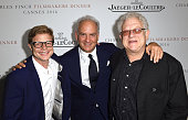 Luc Roeg Charles Finch and Jeremy Thomas attend as Charles Finch hosts the 8th Annual Filmmakers Dinner with JaegerLeCoultre at Hotel du CapEdenRoc...