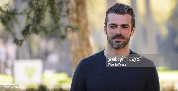 Luca Argentero attends the photocall of 'Il Permesso'