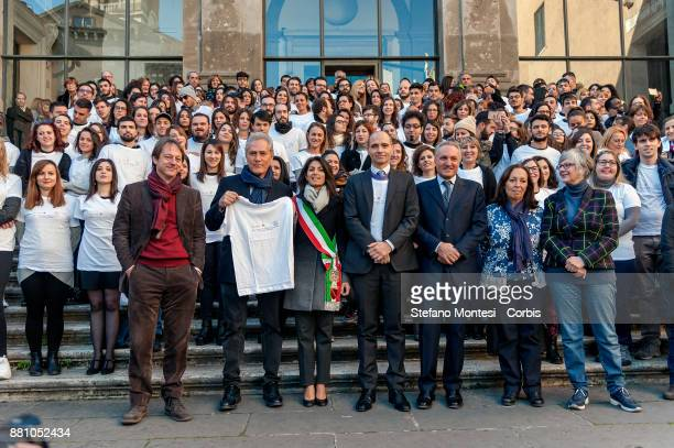 Luca Bergamo Deputy Mayor of Rome Francesco Rutelli former Mayor of Rome Virginia Raggi Mayor of Rome Daniele Frongia Councillor for Sport Youth...
