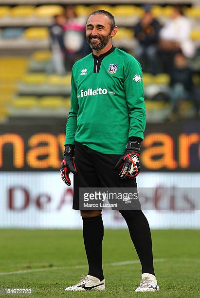 Luca Bucci of Stelle Gialloblu looks on During the 100 Years Anniversary match between Stelle Crociate and US Stelle Gialloblu at Stadio Ennio...