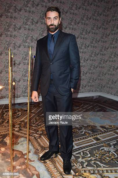 Luca Calvani attends OMEGA 'Her Time' Gala Dinner at Palazzo Del Ghiaccio on September 16 2015 in Milan Italy