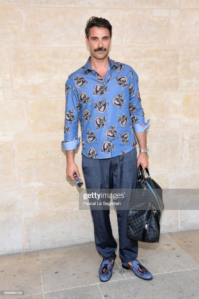 Louis Vuitton : Front Row  - Paris Fashion Week - Menswear Spring/Summer 2018