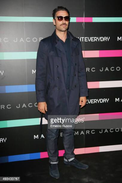 Luca Calvani attends the Marc By Marc Jacobs MbMJSunnies Party at Spazio 900 on May 23 2014 in Rome Italy