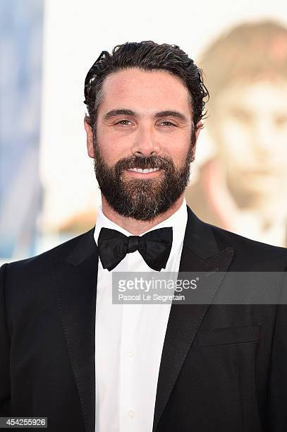 Luca Calvani attends the Opening Ceremony and 'Birdman' premiere during the 71st Venice Film Festival on August 27 2014 in Venice Italy