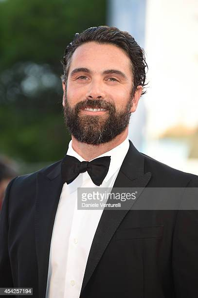 Luca Calvani attends the Opening Ceremony and 'Birdman' premiere during the 71st Venice Film Festival at Palazzo Del Cinema on August 27 2014 in...