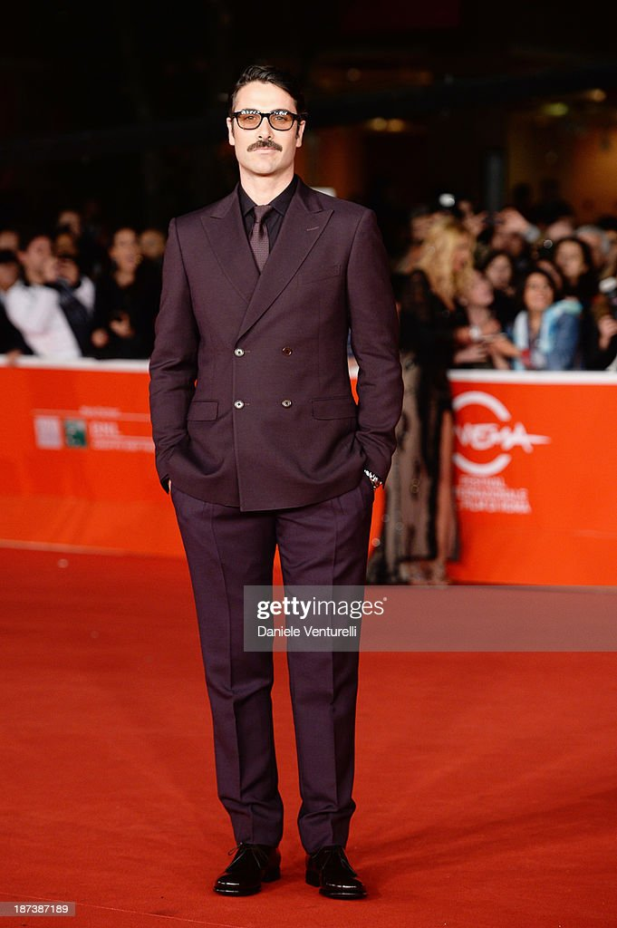 Luca Calvani attends the Opening Ceremony and 'L'Ultima Ruota Del Carro' Premiere during The 8th Rome Film Festival on November 8 2013 in Rome Italy