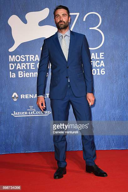 Luca Calvani attends the premiere of 'Franca Chaos And Creation' during the 73rd Venice Film Festival at Sala Giardino on September 2 2016 in Venice...