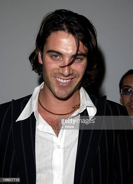 Luca Calvani during Cannes 2002 'Searching for Debra Winger' Dinner in Cannes France