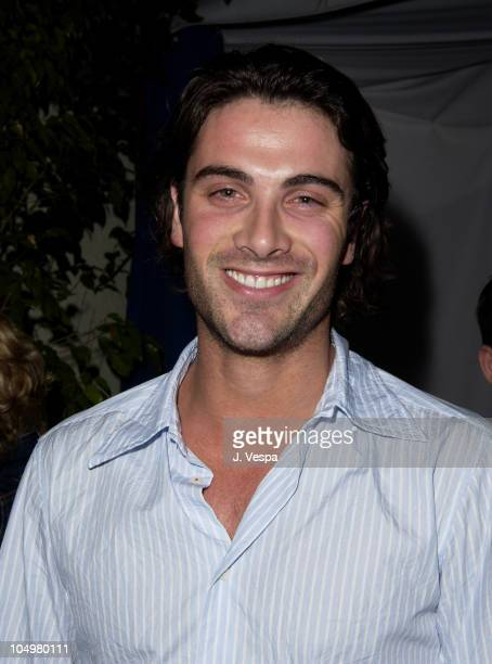 Luca Calvani during 'Resident Evil' Premiere After Party at the GQ Lounge at GQ Lounge in Los Angeles California United States