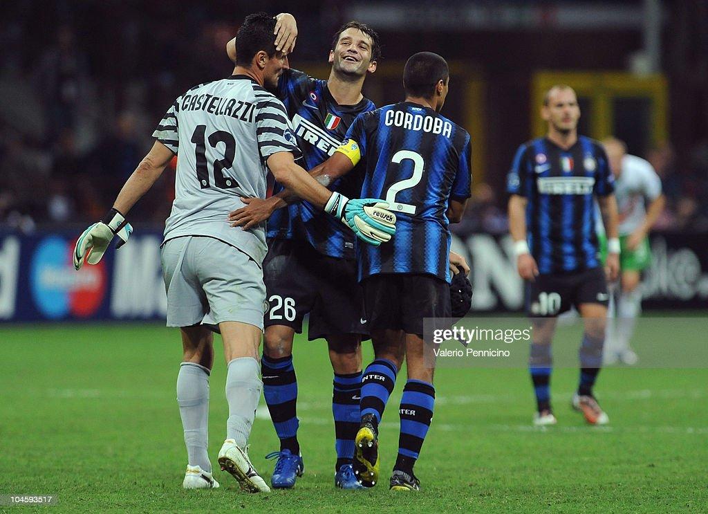 FC Internazionale Milano v SV Werder Bremen - UEFA Champions League