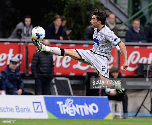 Luca Cigarini of Atalanta BC in action during the Serie A match between FC Internazionale Milano and Atalanta BC at San Siro Stadium on March 23 2014...