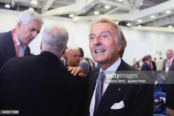 Luca Cordero di Montezemolo President of Alitalia attends Farete at Bologna's Fair District on September 6 2017 in Bologna Italy