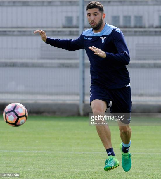 Luca Crecco of SS Lazio during the SS Lazio training session at the Formello Center in Rome on May 10 2017 in Rome Italy