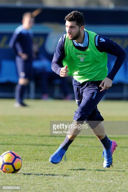 Luca Crecco of SS Lazio during their Training Session on February 16 2017 in Rome Italy