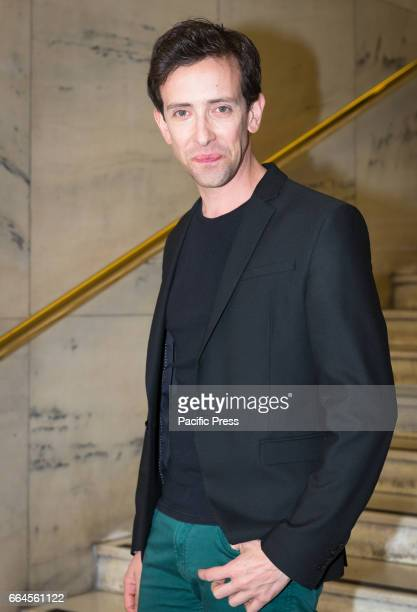 Luca Di Giovanni attends a photocall for 'The Startup'