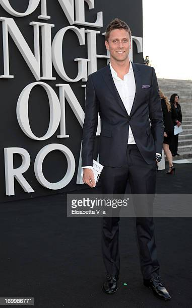 Luca Dotto attends 'One Night Only' Roma hosted by Giorgio Armani at Palazzo Civilta Italiana on June 5 2013 in Rome Italy