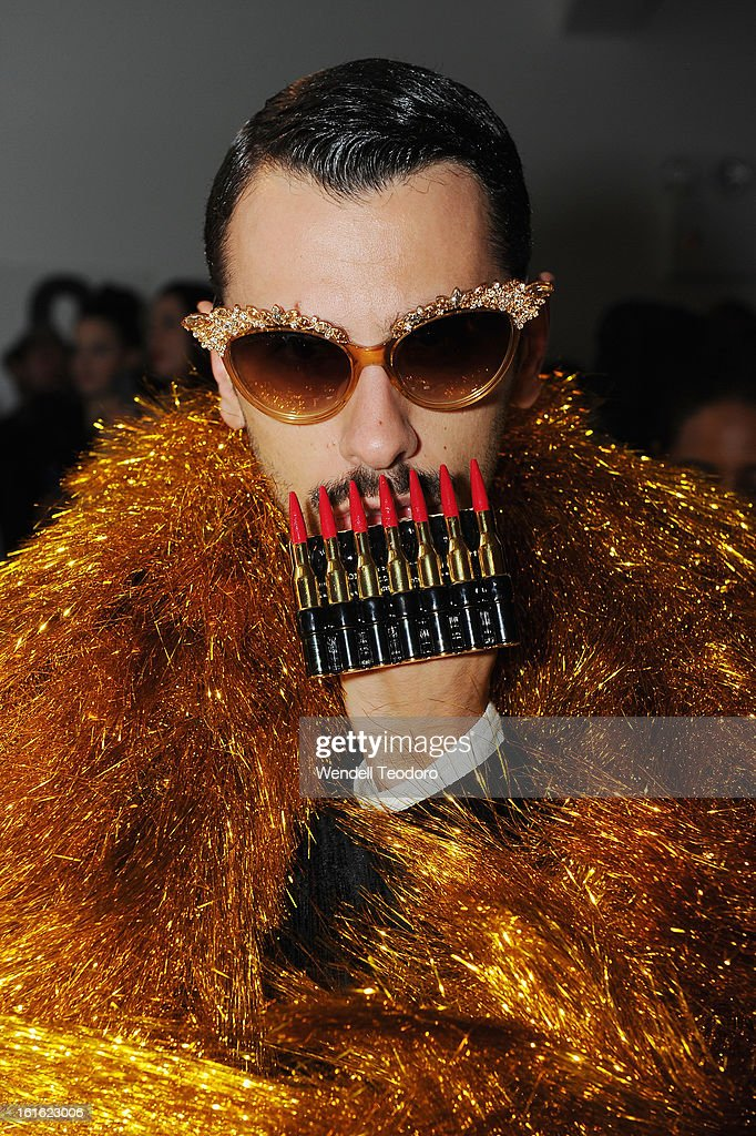 Luca Finotti attends The Blonds during Fall 2013 MADE Fashion Week at Milk Studios on February 12, 2013 in New York City.