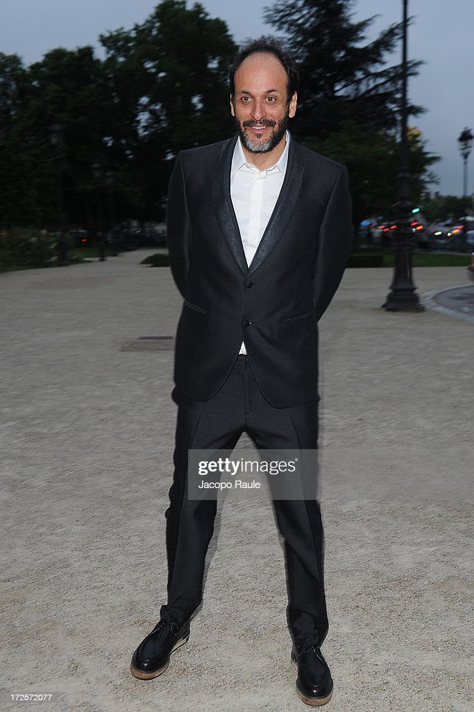 Luca Guadagnino arrives at 'The Glory Of Water' : Karl Lagerfeld's Exhibition Dinner at Fendi on July 3, 2013 in Paris, France.
