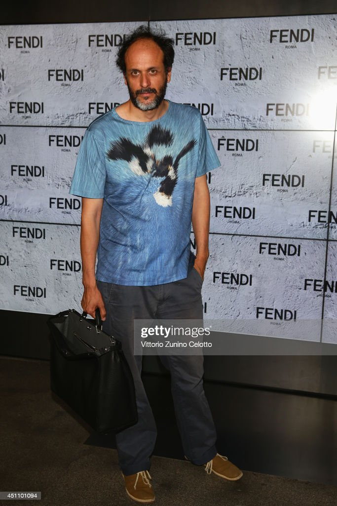 Luca Guadagnino attends the Fendi show during Milan Menswear Fashion Week Spring Summer 2015 on June 23, 2014 in Milan, Italy.